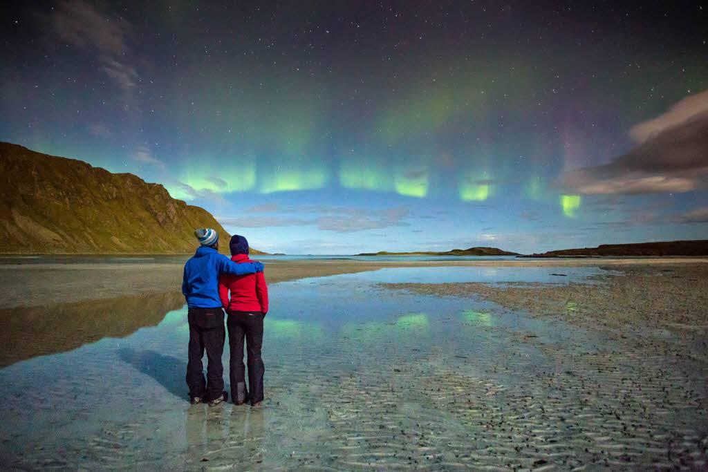 Autumn Northern Lights Break by Alex Conu, Visit Norway