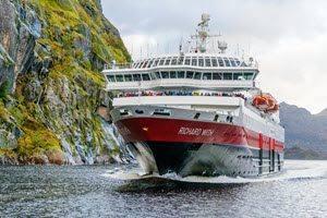 Cruise into Trollfjord by Robert Cranna, Hurtigruten