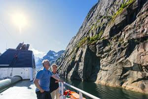 Cruise with Hurtigruten into Trollfjord by Agurtxane Concellon, Hurtigruten