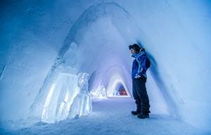 Inside Snowhotel Kirkenes by Snowhotel Kirkenes