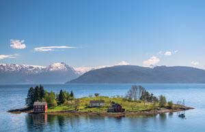 Norwegian Fjord by Sverre Hjornevik, Flam AS
