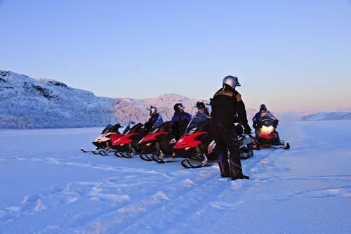 Snowmobile trip by madisphoto@gmail.com, Hurtigruten