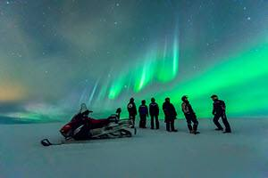 Snowmobile tour by Orjan Bertelsen, Hurtigruten