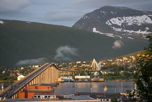 Tromso in summer light by Knut Hansvold, Nordnorsk Reiseliv