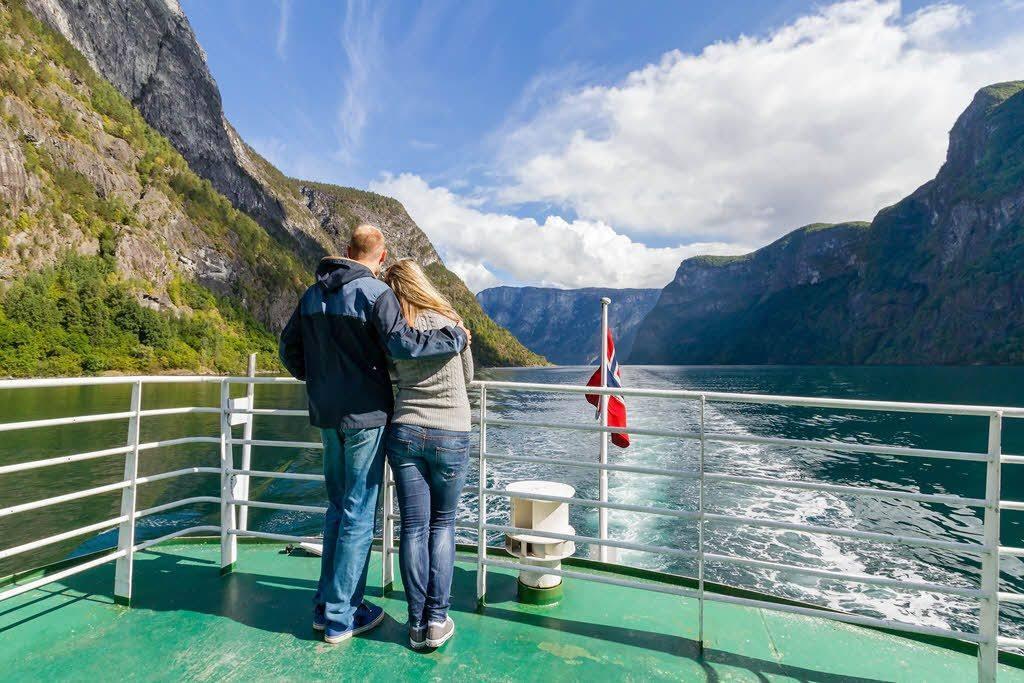 UNESCO World Heritage area Naeroyfjord by Jonny Akselsen, Fjord Norway
