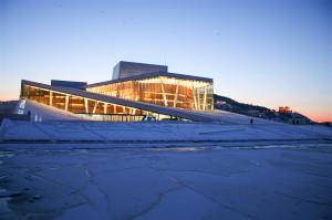 The Oslo Opera house. Photo by Heidi Thon, VisitOslo