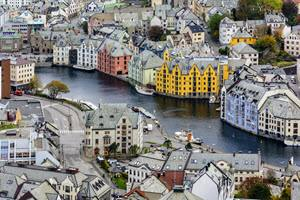 Beautiful Alesund by Hurtigruten