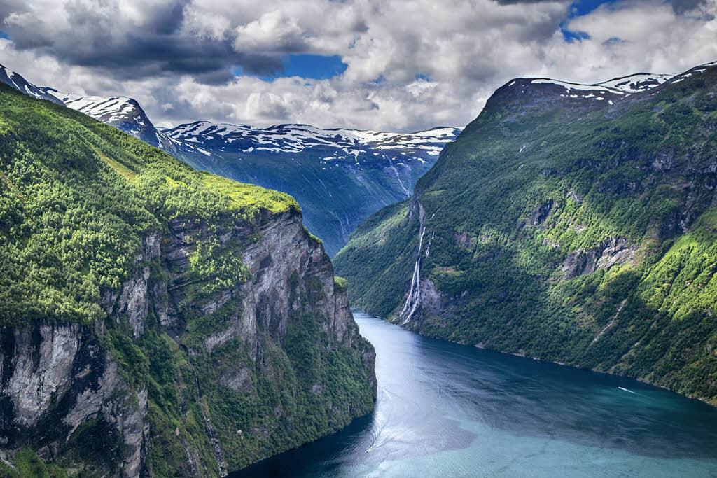 Geirangerfjord by Pixabay