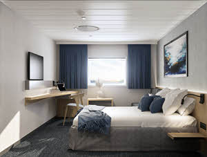 Seaview Cabin Havila Yoyages by Havila Voyages