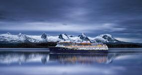 Winter on the Norwegian Coast by Havila Voyages