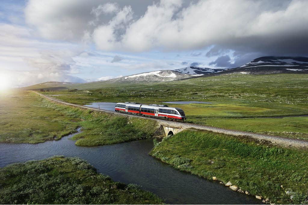 Arctic Nordland Line By Oivind Haug, NSB