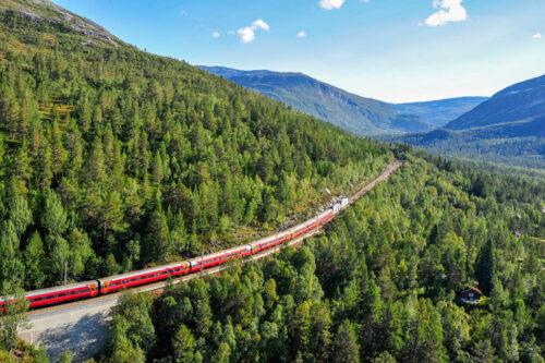 Bergen Railway By Tore Bjorback Amblie, VY