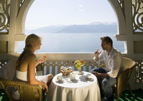 Kviknes Hotel, fjord view By De Historiske Hoteller