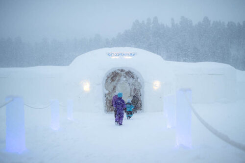 Alta Igloo ice Hotel By By FriKant Mediedesign, Sorrisniva