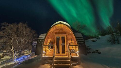 Exotic Gamme Cabin in Kirkenes By Kirkenes Snowhotel