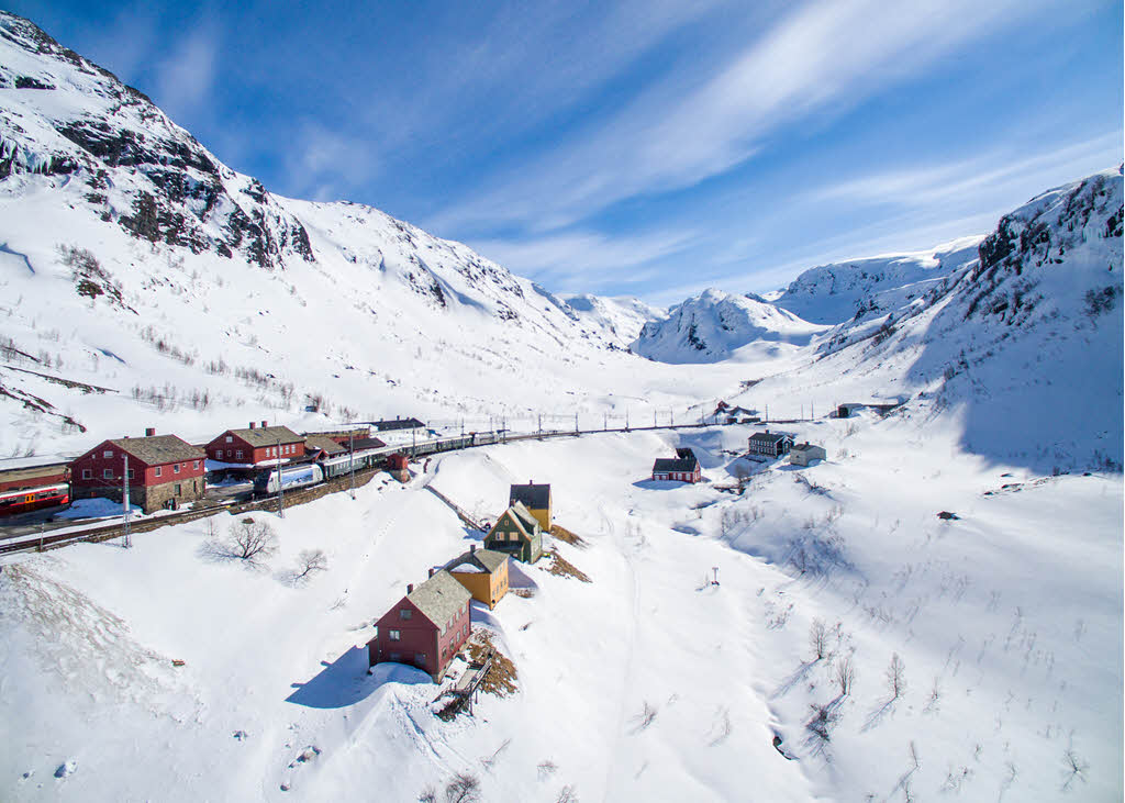 Flam Railway In Winter By Paul Edmundson, Visit Flam