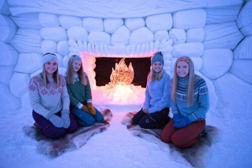 Inside Kirkenes Snowhotel By Kirkenes Snowhotel