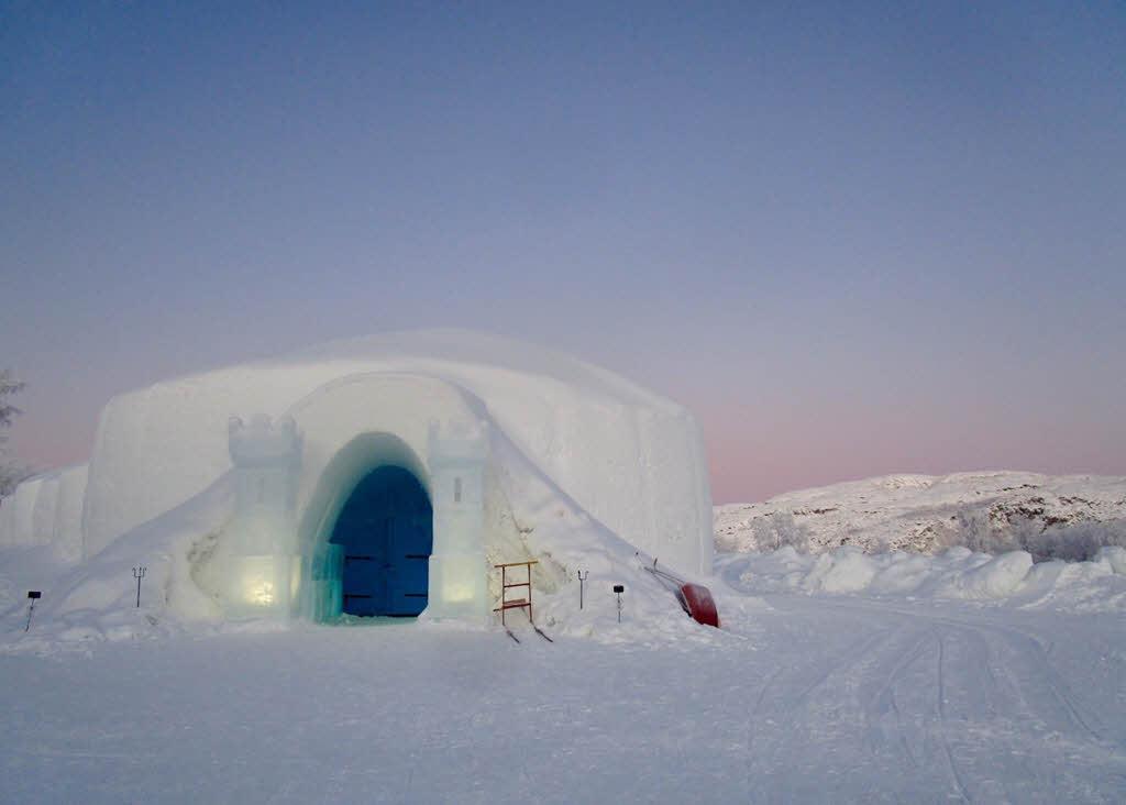 Kirkens Snowhotel By Kirkenes Snowhotel