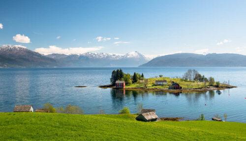 Hardangerfjord By Sverre Hjornevik, Fjord Norway