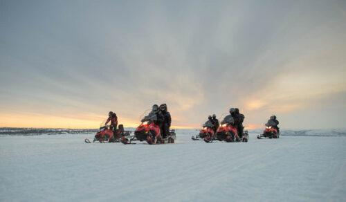 Snowmobile Trip Alta By FriKant Mediedesign, Sorrisniva