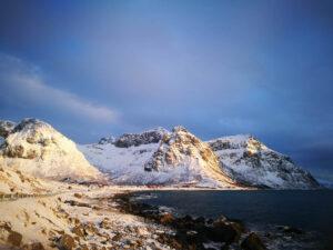 Winter on Lofoten Islands By F. Schwarzlmueller, Fjord Travel Norway