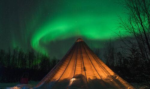 Lavvo - Traditional Sami Tent Alta By FriKant Mediedesign, Sorrisniva