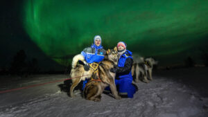 Under The Northern Lights In Kirkenes By Kirkenes Snowhotel
