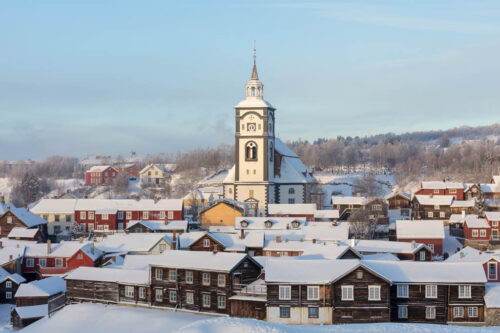 View Of Roros By Svein Erik Knoff, Trondelag Reiseliv