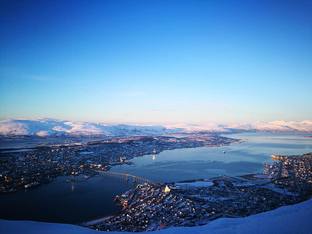 Winter In Tromso By F.Schwarzlmueller, Fjord Travel Norway